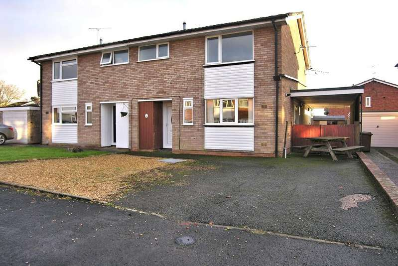 3 Bedrooms Semi Detached House for sale in FIRBECK GARDENS, WILDWOOD, STAFFORD ST17