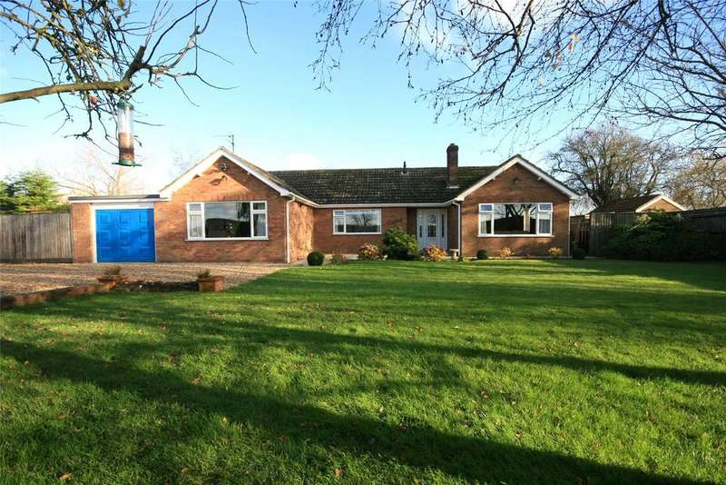 3 Bedrooms Detached Bungalow for sale in Mill Lane, Sutterton, PE20