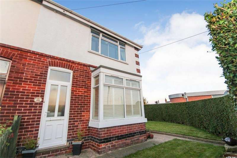 3 Bedrooms Semi Detached House for sale in 408 Burton Road, Midway, SWADLINCOTE, Derbyshire