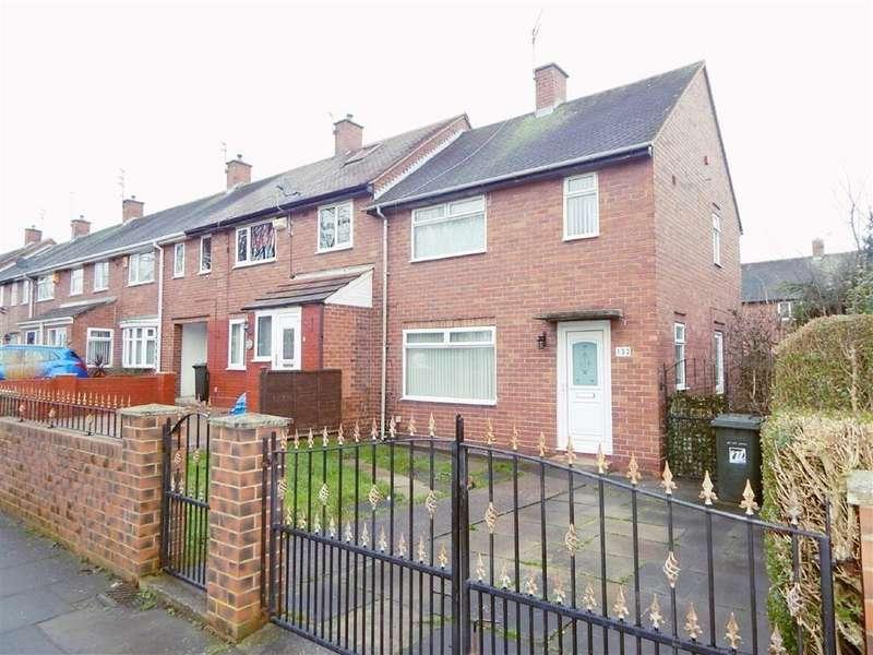 2 Bedrooms Terraced House for sale in Churchill Street, Howdon, Wallsend, NE28