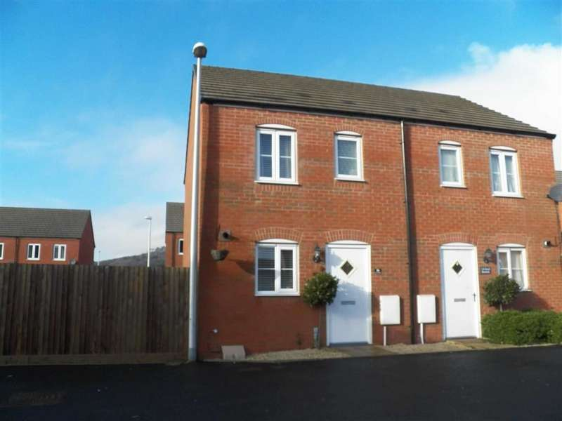 2 Bedrooms Semi Detached House for sale in Stryd Bennett, Llanelli