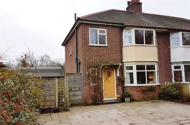 3 Bedrooms Semi Detached House for sale in Oak Avenue, Off South Oak Lane, Wilmslow