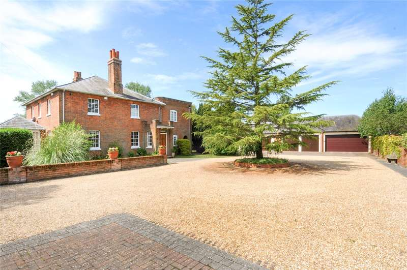 5 Bedrooms Detached House for sale in Brockhill Farm, Warfield, Berkshire, RG42