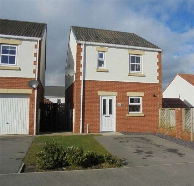 3 Bedrooms Detached House for sale in Lavender Crescent, Spennymoor, Durham