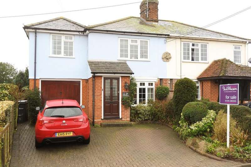 4 Bedrooms Semi Detached House for sale in The Green, Hatfield Peverel