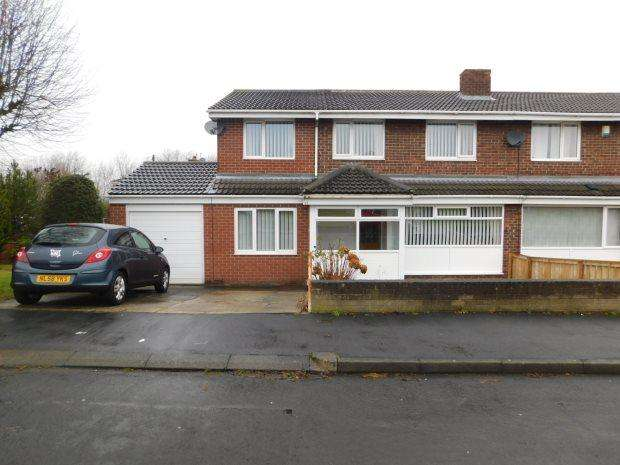4 Bedrooms Semi Detached House for sale in PREBENDS FIELD, GILESGATE, DURHAM CITY
