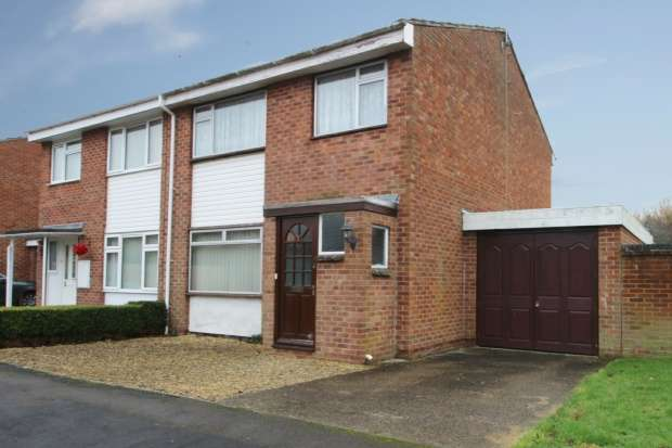 3 Bedrooms Semi Detached House for sale in Candy Way, Abingdon, Oxfordshire, OX13 6LF