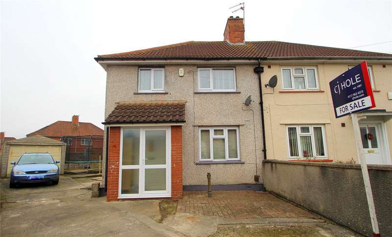 3 Bedrooms Semi Detached House for sale in Hartcliffe Walk BRISTOL BS4