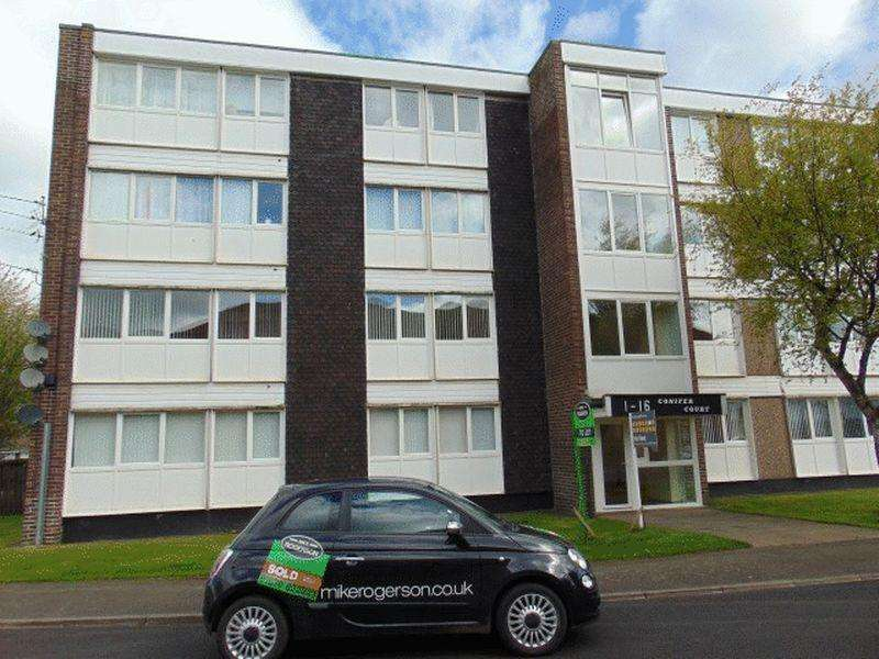 2 Bedrooms Flat for sale in Conifer Court, Forest Hall, Newcastle upon Tyne