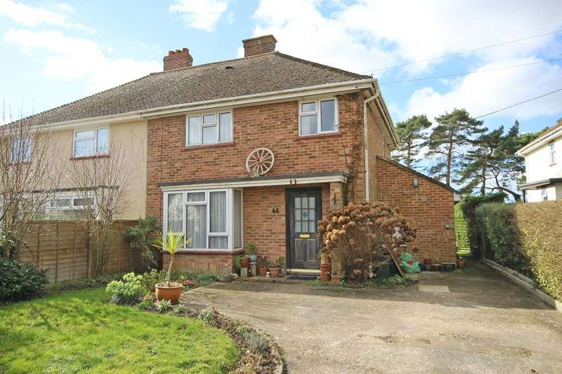 3 Bedrooms Semi Detached House for sale in Lower Ashley Road, Ashley, New Milton