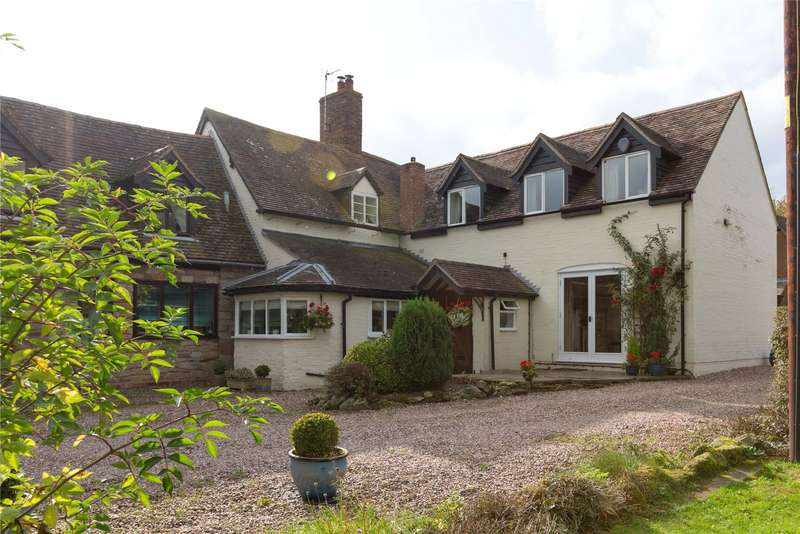 4 Bedrooms Semi Detached House for sale in Church House, Aston Eyre, Bridgnorth, Shropshire, WV16