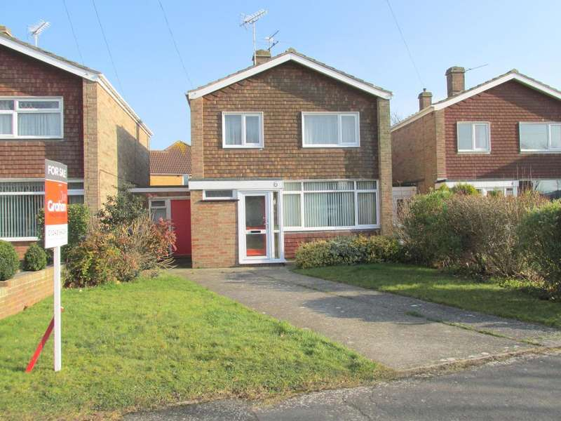 3 Bedrooms Detached House for sale in Brook Close, Bognor Regis, West Sussex, PO21 5PN