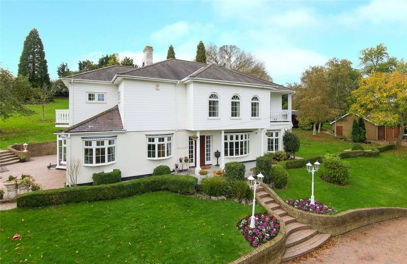 4 Bedrooms Detached House for sale in Childerditch Street, Little Warley, Brentwood, Essex