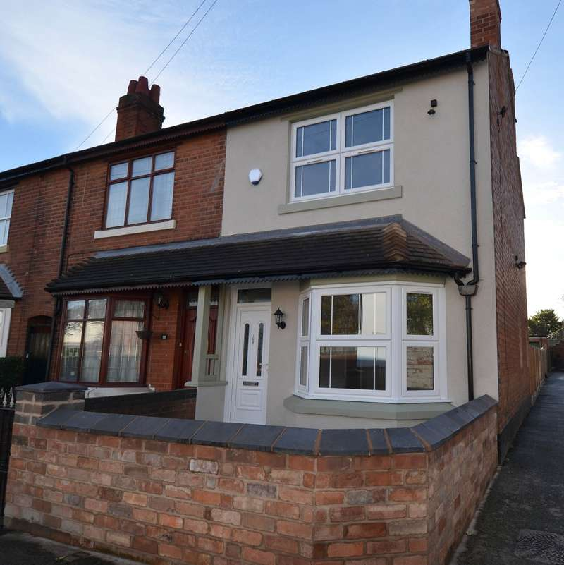 5 Bedrooms End Of Terrace House for sale in Taylor Road, Kings Heath , Birmingham, B13