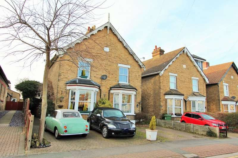 3 Bedrooms Semi Detached House for sale in Birkbeck Road, Sidcup, Kent, DA14