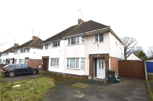 3 Bedrooms Semi Detached House for sale in 139 Brooklyn Road, CHELTENHAM, Gloucestershire, GL51 8DX