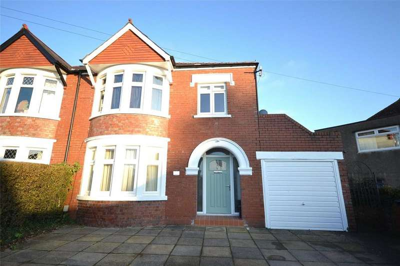 4 Bedrooms Semi Detached House for sale in Pencisely Rise, Llandaff, Cardiff, CF5