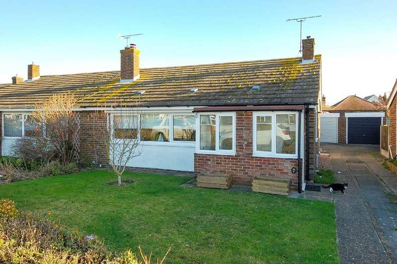 2 Bedrooms Semi Detached Bungalow for sale in Rose Gardens, Herne Bay