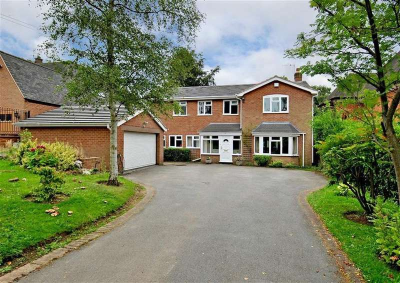 4 Bedrooms Detached House for sale in Westerham, 17, Perton Road, Wightwick, Wolverhampton, West Midlands, WV6
