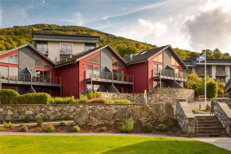 2 Bedrooms House for sale in Beinn Eighe, Taymouth Marina, Kenmore, Aberfeldy, Perthshire