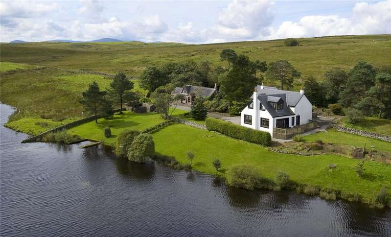 5 Bedrooms Detached House for sale in Lochinvar Lodge Cottage, Dalry, Castle Douglas, Kirkcudbrightshire