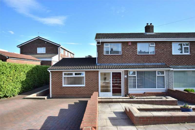 4 Bedrooms Semi Detached House for sale in Low Fell