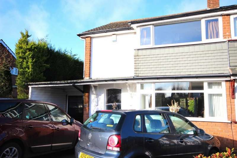 3 Bedrooms Semi Detached House for rent in Fieldhouse Road, Ettingshall Park, Wolverhampton