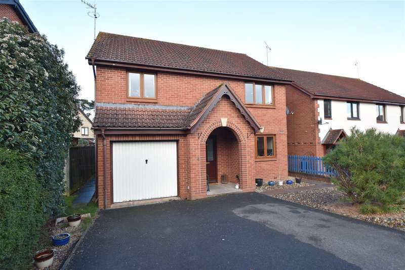 4 Bedrooms Detached House for sale in Byron Close, Powick, Worcester
