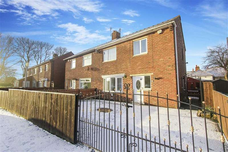 3 Bedrooms Semi Detached House for sale in Mccracken Drive, Wideopen, Tyne And Wear
