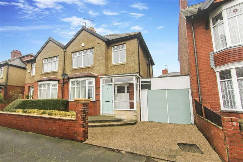3 Bedrooms Semi Detached House for sale in Queen Alexandra Road West, North Shields, Tyne And Wear
