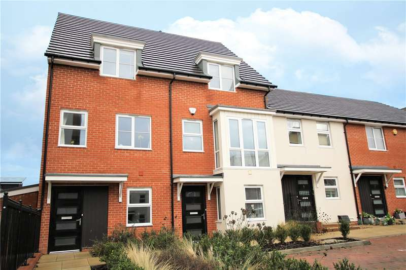 4 Bedrooms End Of Terrace House for sale in Lindisfarne Way, Reading, Berkshire, RG2