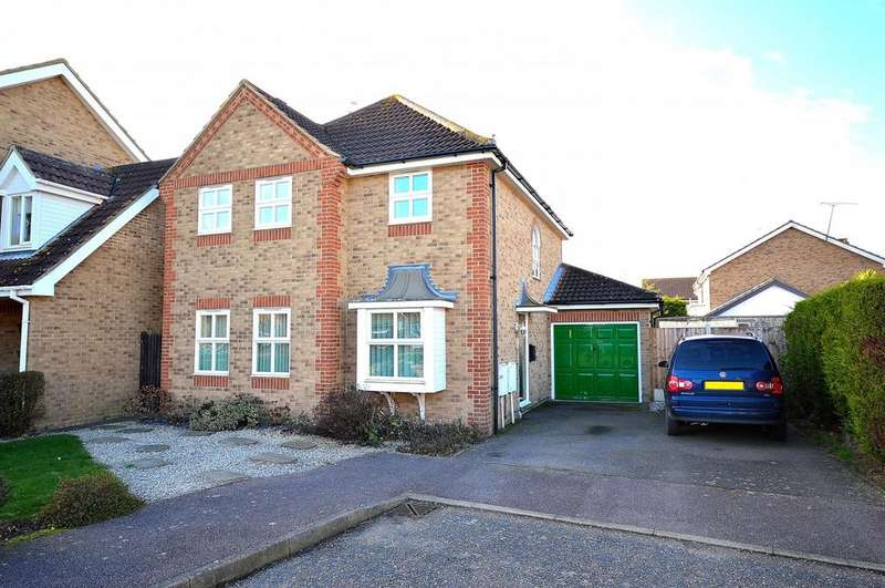4 Bedrooms Detached House for sale in Conyer Close, Maldon, Essex, CM9