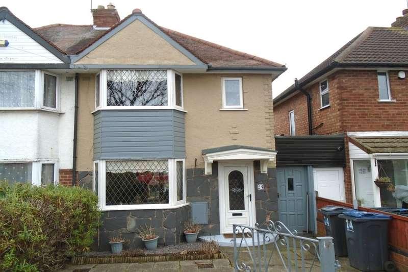 3 Bedrooms Semi Detached House for sale in Benedon Road, Birmingham, B26