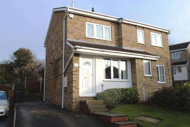 2 Bedrooms Semi Detached House for sale in 16 Westbury Close, Redbrook, Barnsley, S75 2RZ