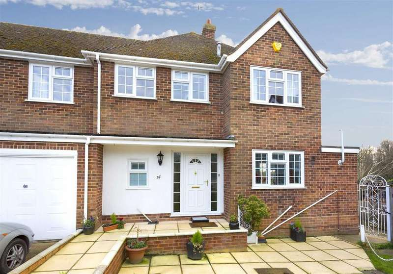 4 Bedrooms Semi Detached House for sale in Hangleton Manor Close, Hove