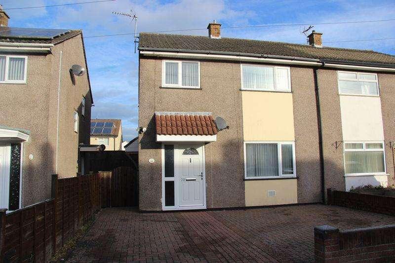 3 Bedrooms Semi Detached House for sale in Betjeman Avenue, Caldicot