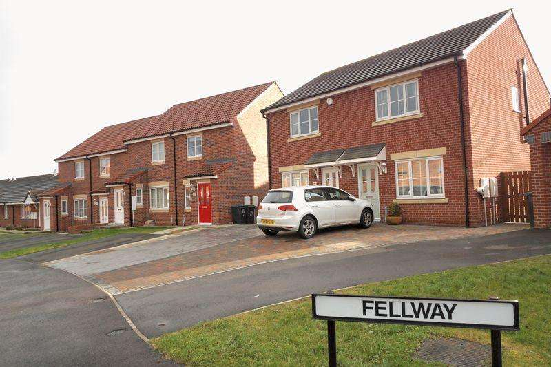 3 Bedrooms Semi Detached House for sale in Fellway, Chester le Street