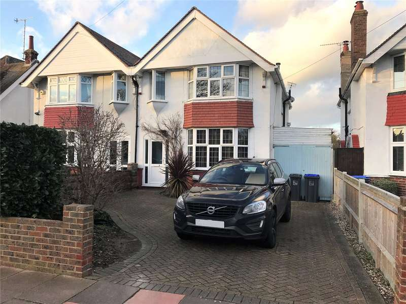 3 Bedrooms Semi Detached House for sale in Gerald Road, West Worthing, West Sussex, BN11