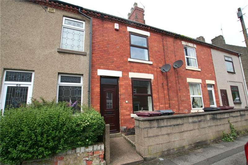 2 Bedrooms Terraced House for sale in Albert Street, South Normanton, Alfreton, Derbyshire, DE55