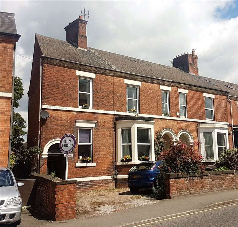 4 Bedrooms Semi Detached House for sale in New Road, Belper, Derbyshire, DE56