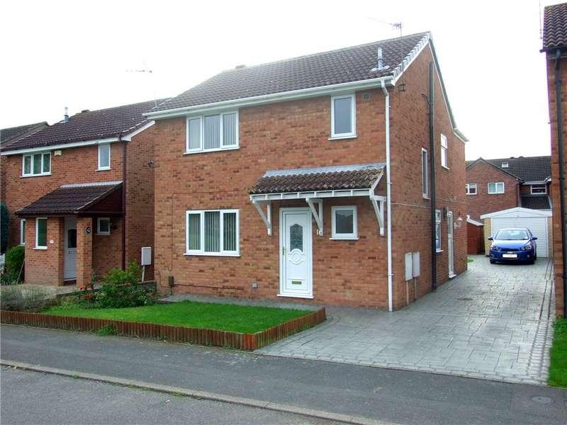 4 Bedrooms Detached House for sale in Hobkirk Drive, Sinfin, Derby, Derbyshire, DE24
