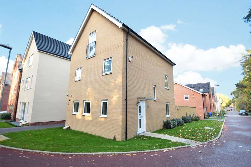 4 Bedrooms Detached House for sale in Hunter Way, The Parks, Bracknell, Berkshire, RG12
