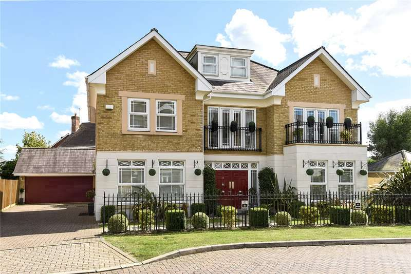 5 Bedrooms Detached House for sale in Drifters Drive, Deepcut, Camberley, Surrey, GU16