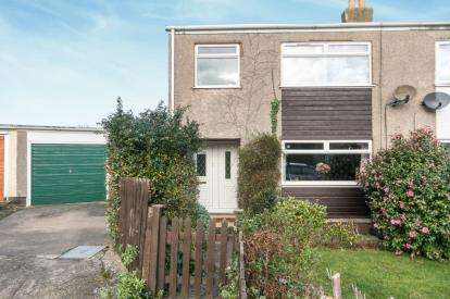 3 Bedrooms Semi Detached House for sale in Gwynan Park, Dwygyfylchi, Conwy, North Wales, LL34