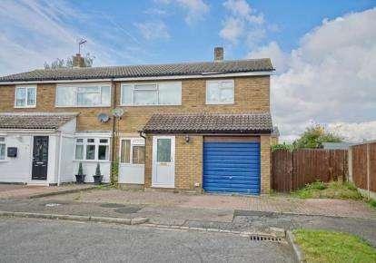 3 Bedrooms Semi Detached House for sale in Mills Walk, Sandy, Bedfordsire