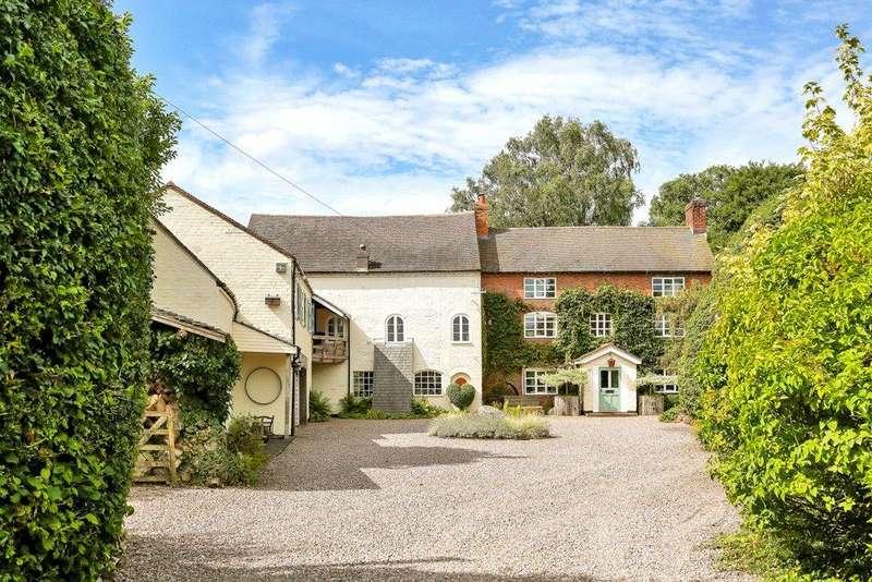 5 Bedrooms Detached House for sale in Longdon, Rugeley, Staffordshire