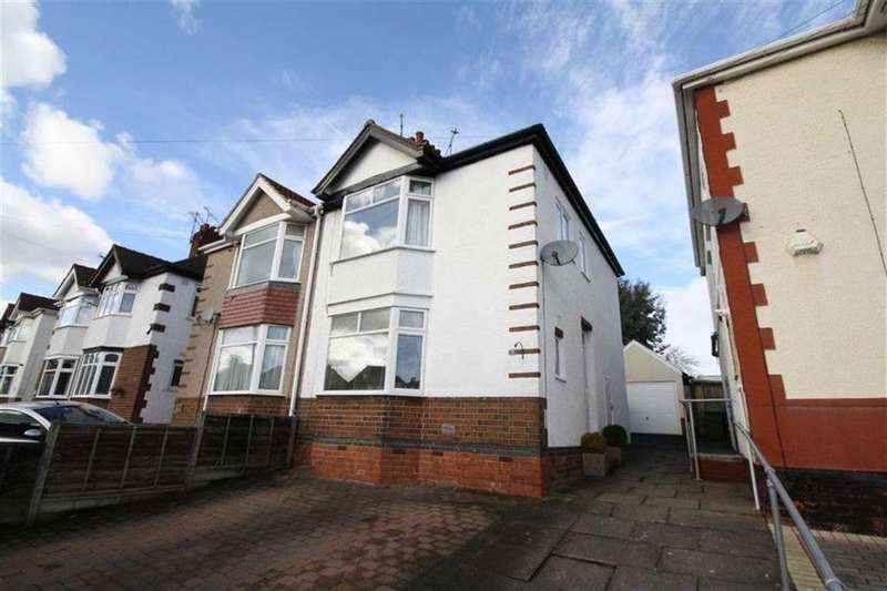 3 Bedrooms Semi Detached House for sale in Glenfield Avenue, Weddington, Nuneaton