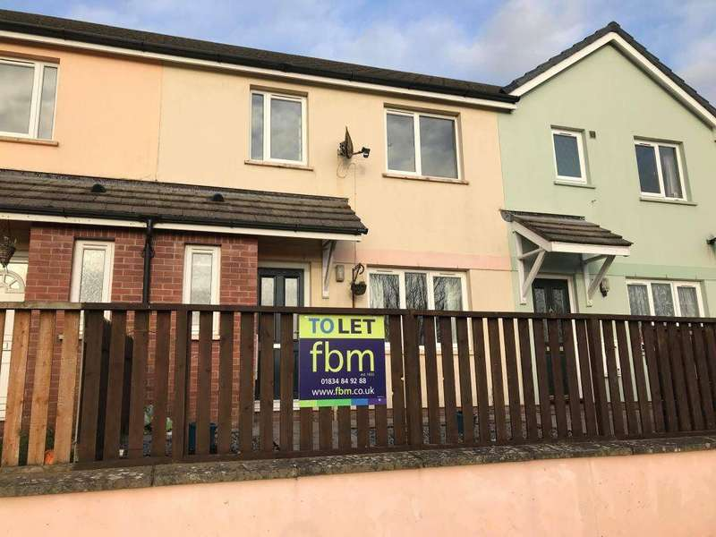 3 Bedrooms Semi Detached House for rent in Laugharne Close, Pembroke, Pembrokeshire