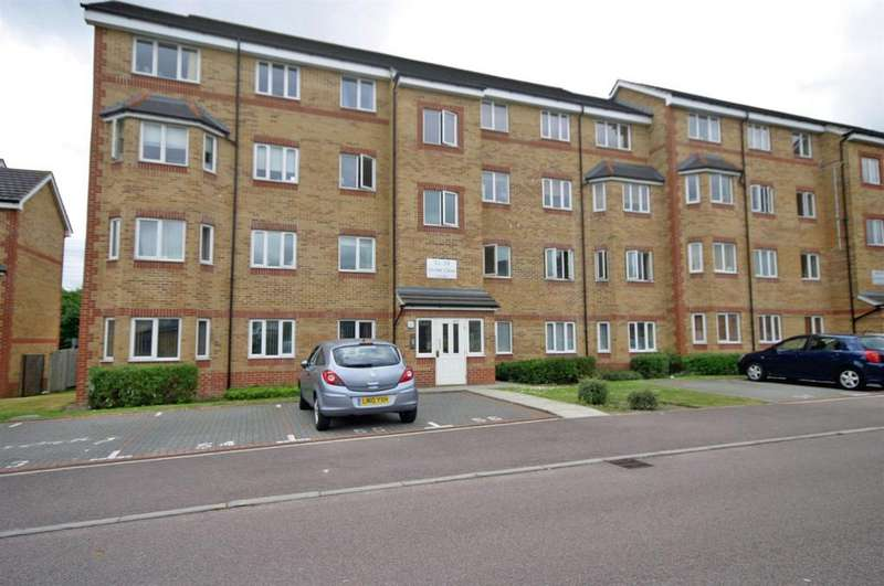 2 Bedrooms Apartment Flat for sale in Orchid Close, Luton