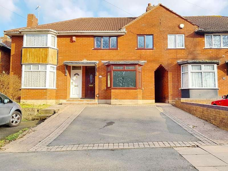 3 Bedrooms Terraced House for sale in WALSALL ROAD, WEST BROMWICH, WEST MIDLANDS, B71 3HE